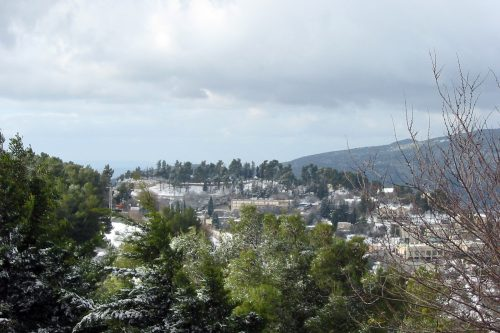 Israel Winter - Mountains of Safed