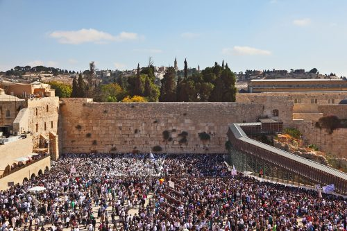 Passover in Israel at the kotel - NES Mobile