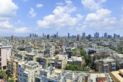 Tel Aviv panoramic view -israel travel nesmobile
