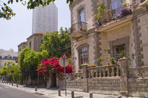 Israeli SIM in Tel Aviv - Historical Part Of Tel-Aviv - Neve Zedek.Israel- NES Mobile