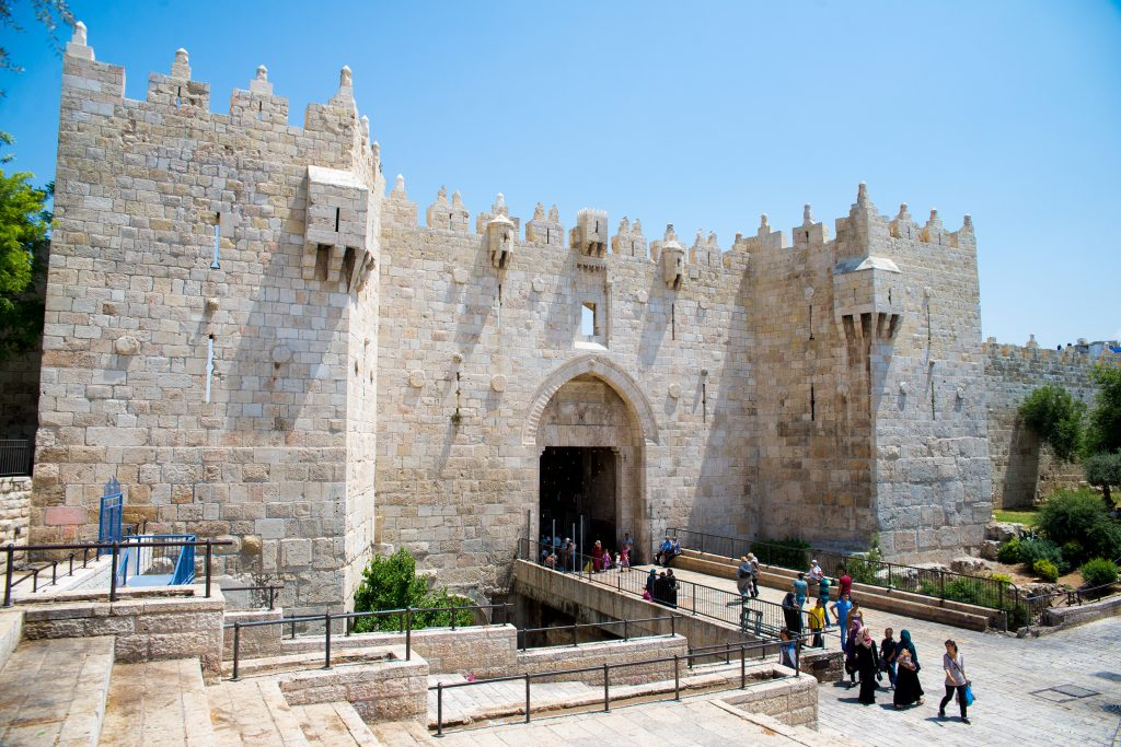 JERUSALEM ISRAEL, DamascusGate, BirthrightIsrael, Nes mobile