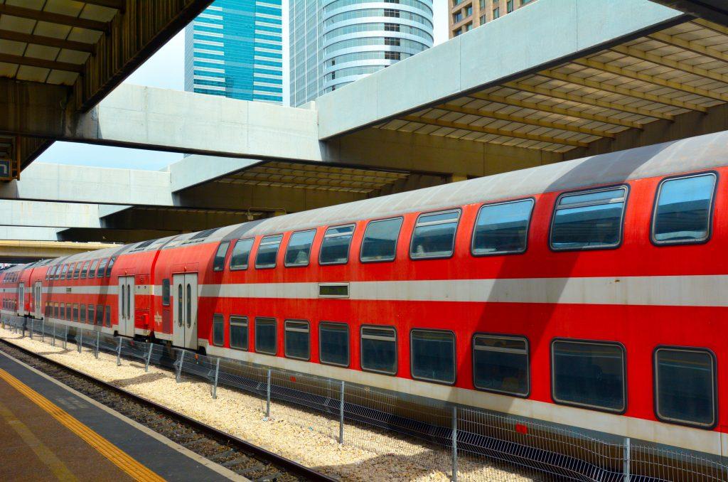 Israeli train - public transport