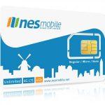 4G LTE Israel SIM card for an unlocked phone