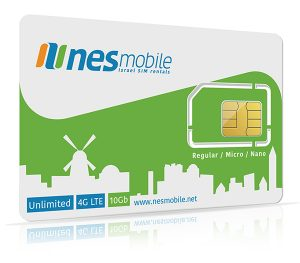 Israel SIM card for visiting students