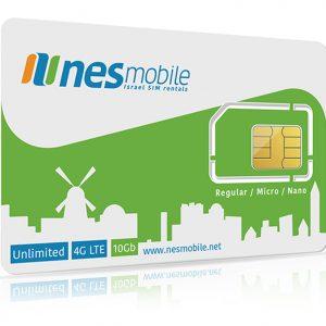 Israel SIM Long-term plans - Israel SIM card for visiting students - nesmobile