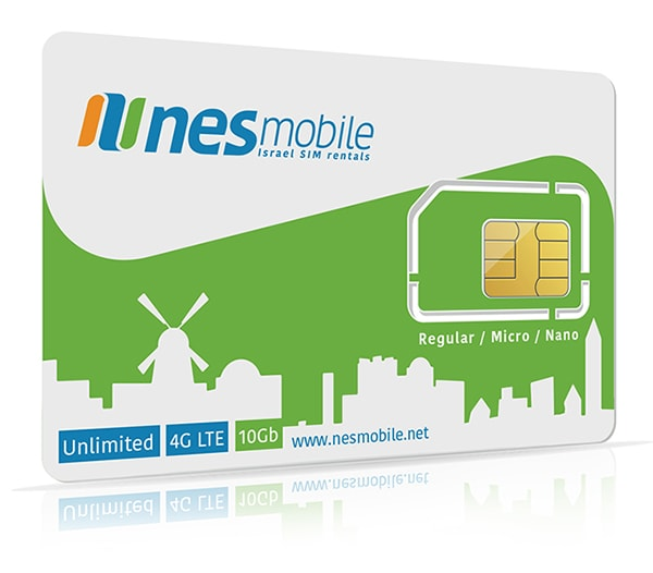 Israel SIM Long-term plans - Israel SIM card for visiting students - nesmobile