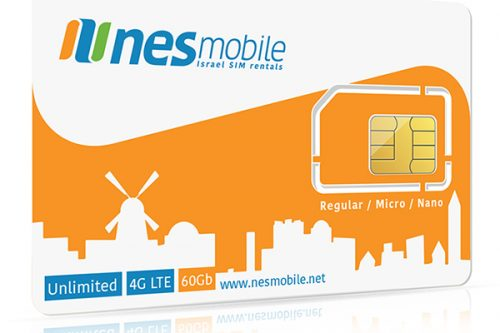 Israel SIM Card unlimited data in Israel - Nes Mobile