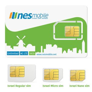 Get an Israel SIM Card from nesmobile