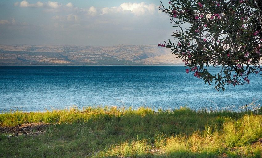 Sea of Galilee - Israel SIm Card - Nes Mobile Israel Travel